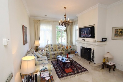 The excellent tv-room