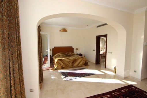 One of the heavenly bedrooms