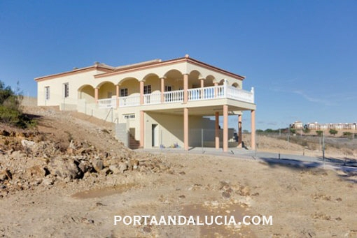 Newly built villa in Ayamonte