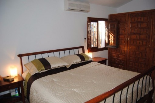 One of the lovely bedrooms