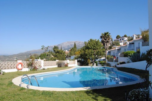 To Buy Terraced House With Sea View In Competa Malaga