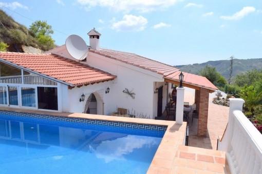 villa in Almáchar