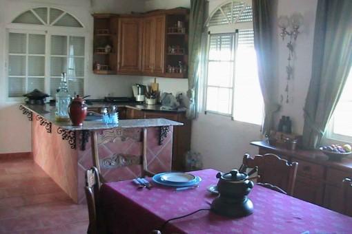 Fully fittd kitchen