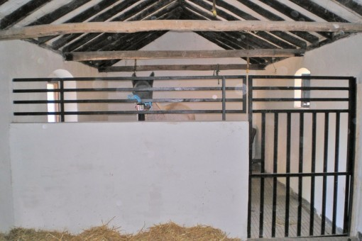 The horse stables of the wonderful finca