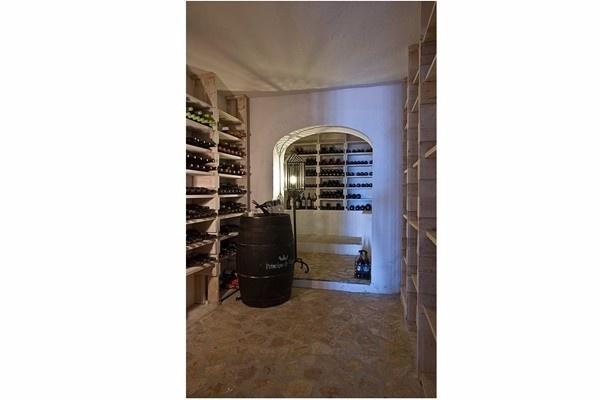 The private wine cellar