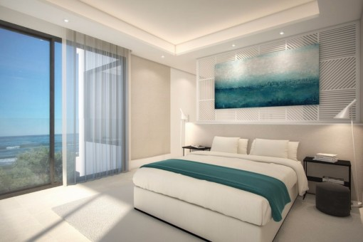 Another bedroom with sea view