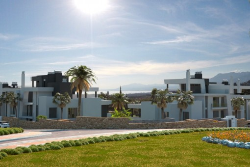 Contemporary off-plan apartments, Cabopino