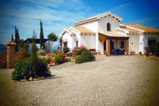 Spectacular Finca with magnificent views in Álora, Malaga