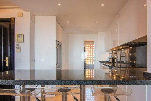 Modern and full equipped kitchen
