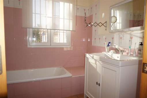 Bathroom with day light