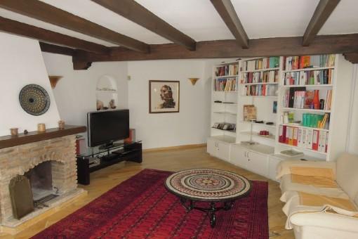 Stylish living area