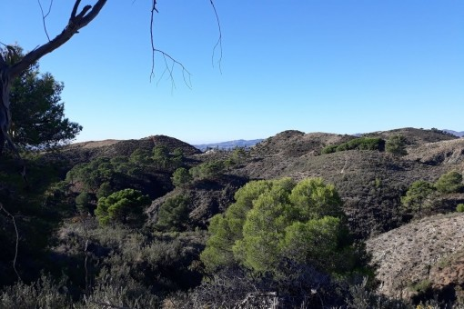 Building plot in Mijas with beautiful sea and mountain views