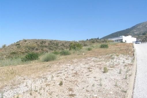Plot with mountain views