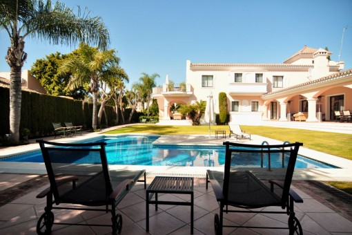 Luxurious villa in Nueva Andalucia, Golf Las Brisas
