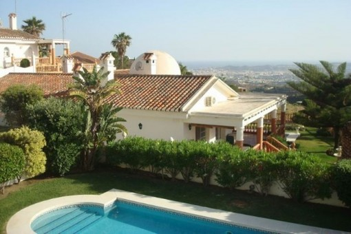 Charming villa with panoramic views in Mijas