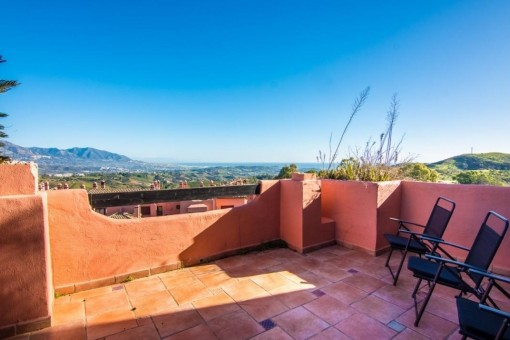 Penthouse with amazing views close to Marbella