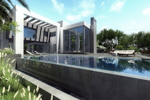 Contemporary-pool