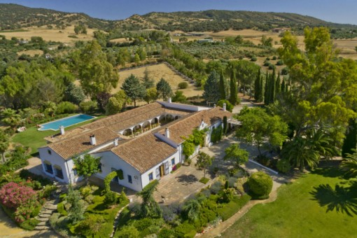 Equestrian Property With Pool And Horse Stables In Ronda Malaga