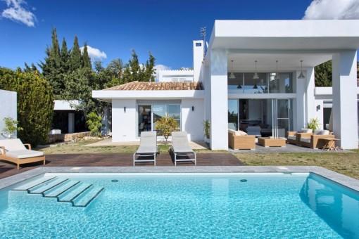 Renovated villa near Los Naranjos Golf, Nueva Andalucia, Marbella