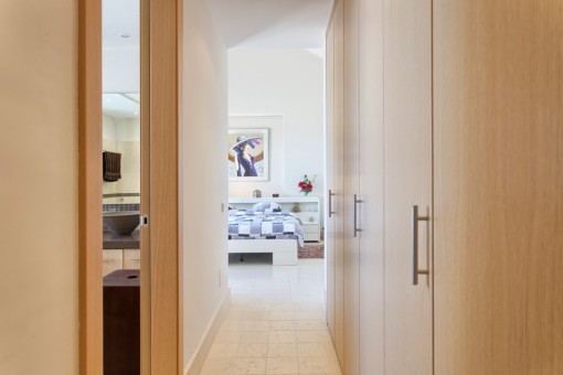 Entry to the master bedroom en suite