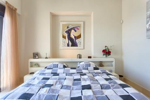 Impressive master bedroom