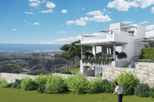 Brand New frontline golf project close to amenities in Cabopino, Marbella