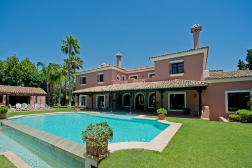 Estate in traditional Cortijo Style in Guadalmina Baja, Marbella