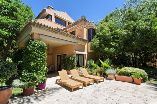 villa in Marbella The Golden Mile