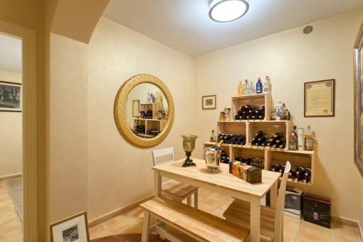 Original wine cellar
