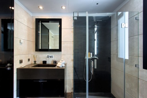 Further modern bathroom with shower