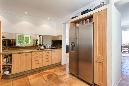 Kitchen offers all kind of appliances