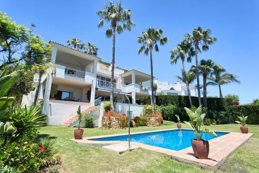 Very well located villa in the residential area of Rio Real Golf, close to Marbella