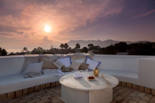 Beautiful roof terrace to enjoy summer nights
