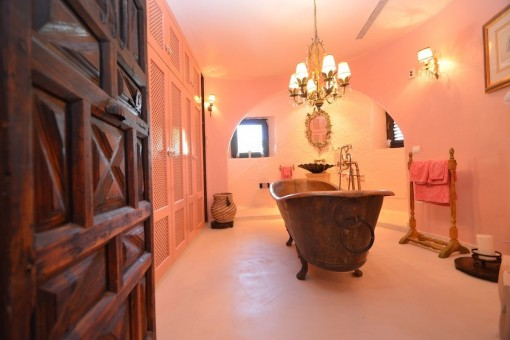 Lovely bathroom in an authentic style