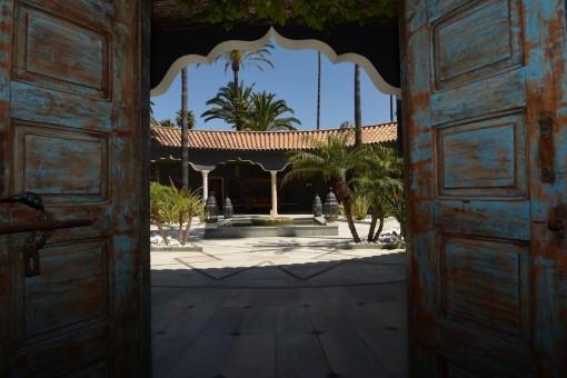 Enchanting inner courtyard