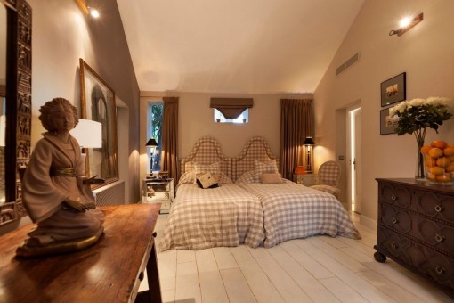 One of 7 comfortable bedrooms