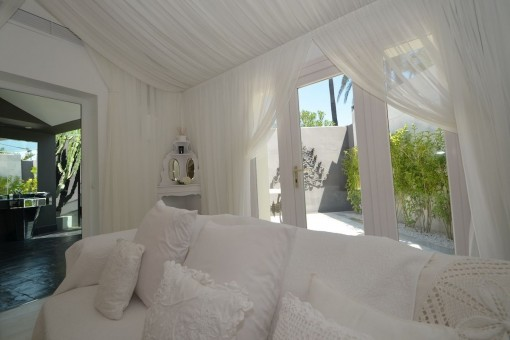 The villa offers a pleasant ambience