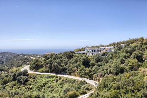 Breathtaking location of the property
