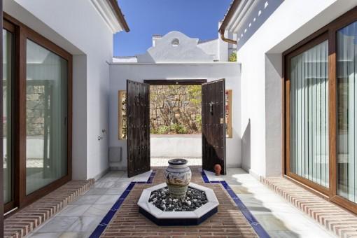 Elegant patio