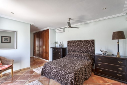 All bedrooms are equipped with air conditioning