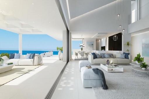 Modern living concept