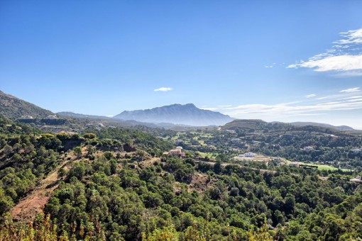 Beautiful panoramic views