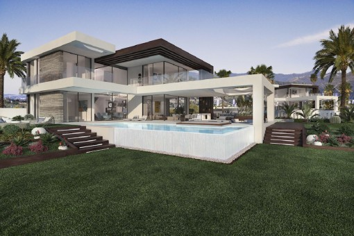 12 independent villas with unique and contemporary design on the New Golden Mile in Estepona