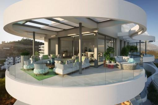 apartment in Benahavís for sale