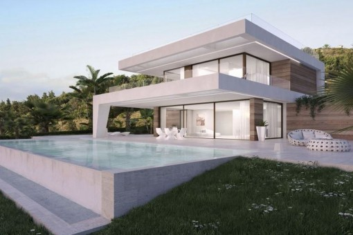 Newly built villa next to the Golf Resort in Estepona