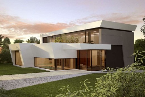 Ultra modern luxury villa in Marbella West, close to completion