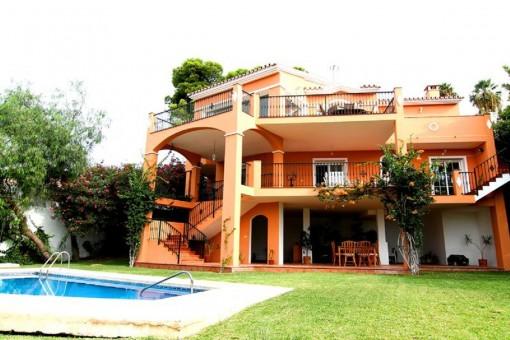Fantastic villa close to the beach in Benalmádena