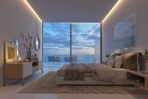 One out of 3 bedrooms
