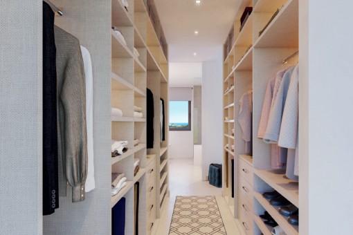 Alternative view of the wardrobe