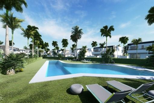 Fantastic pool area